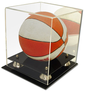 Deluxe Acrylic Mini Basketball Display