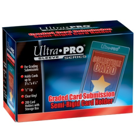 Ultra Pro Graded Card Submission Holder