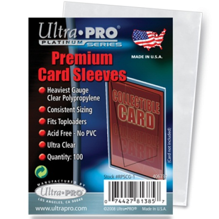 Premium Trading Card Sleeves