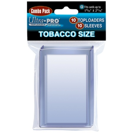 Ultra Pro Tobacco Topload And Sleeves