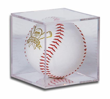 Ballqube Softball Holder Display