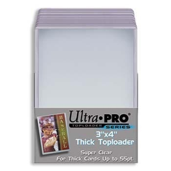 Ultra Pro 3 x 4  Thick Card 55 pt Topload Holder