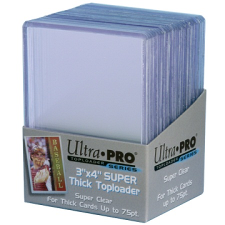 3 x 4 Thick Card 75 pt Topload Holder