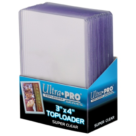 3 x 4 Premium Topload Card Holder