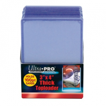 Ultra Pro 3 x 4  Thick Card 100 pt Topload Holder