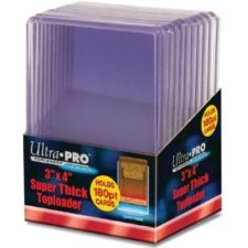 Ultra Pro 3 x 4 Thick Card 180 pt Topload Holder