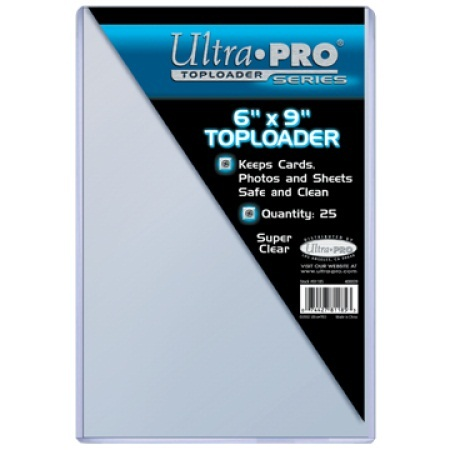 Ultra Pro 6 x 9 Topload Holder