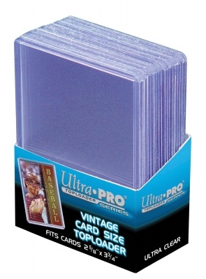 Ultra Pro Vintage Card Topload Holder