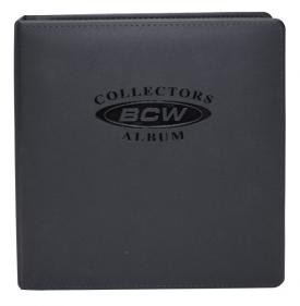 Premium Collectors Album Black Leatherette