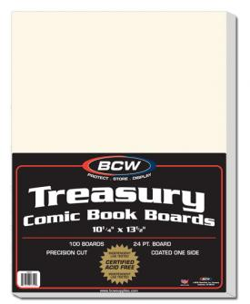 Treasury Comic Book Backing Boards
