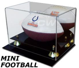 Deluxe Acrylic Mini Football Display