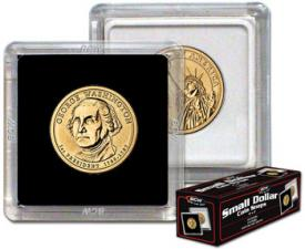 Sacagawea/SBA/Presidential Dollar 2x2 Snap Holder (26.5mm)