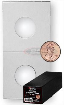 BCW Penny 2x2 Paper Flips - Boxed