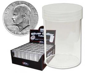 Eisenhower/Morgan Dollar Tubes - Round