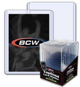 BCW 3 x 4 Thick Card 240 pt Topload Holder