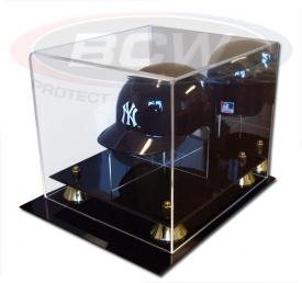 Deluxe Acrylic Mini Baseball Helmet Display